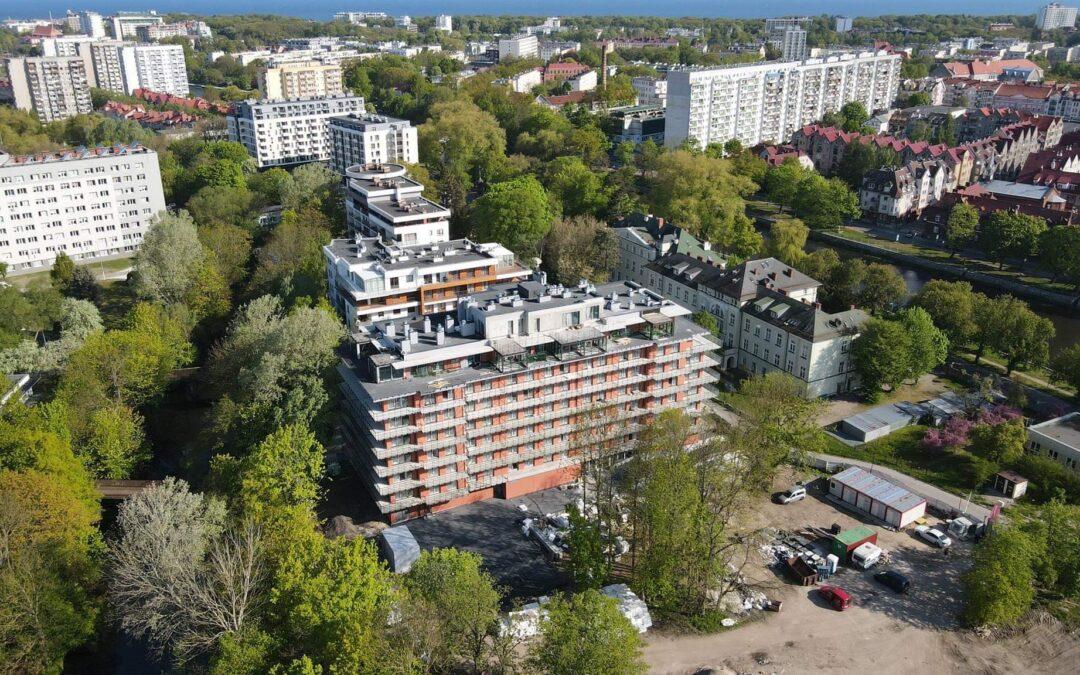 Budowa inwestycji Wyspa Solna wmaju 2021