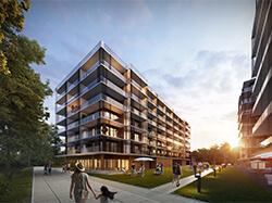 Nowy budynek wofercie
